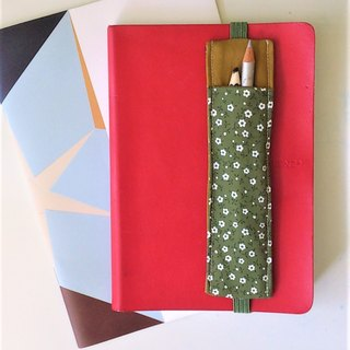 Journal Pen Holder (Dark Green)