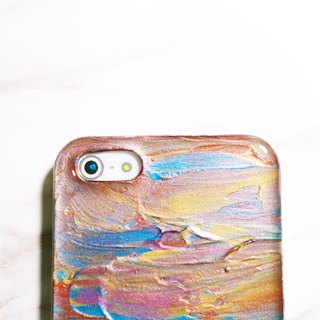 Experimental series ll 002 ll hand-painted oil painting phone case