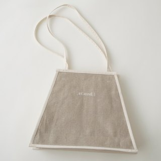 Triangle bag white