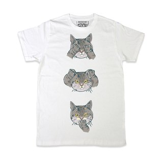 No Evil Cat • Unisex T-shirt