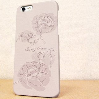 (Free shipping) iPhone case GALAXY case ☆ Rose in spring