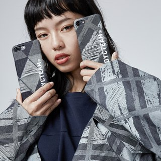DYCTEAM - Jacquard iPhone Case 丹寧緹花手機殼