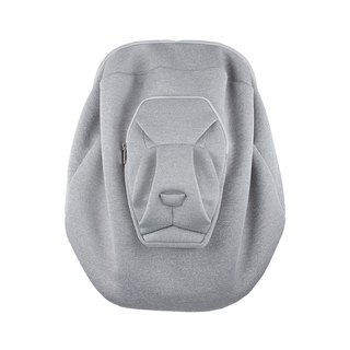 ORIBAGU Origami Bag_Gray Lion Backpack