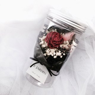 LJ.Flower Mini Jomalone Dry Bouquet Flower Jar / Valentine's Day Gift