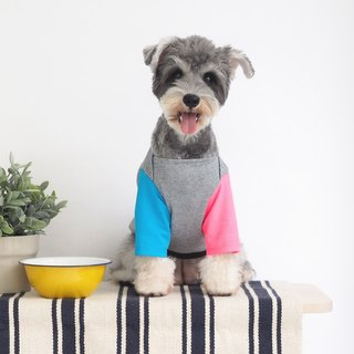 Colour Block Boat Neck | For Dogs