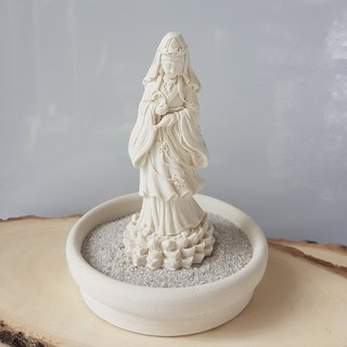 Miniature Small meditation Guanyin G3, Zen/Fairy Garden Supplies