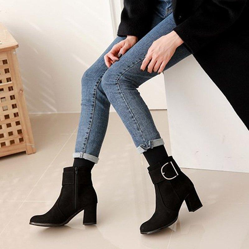 PRE-ORDER 韓國人手製 MACMOC CANTO (Black) 短靴