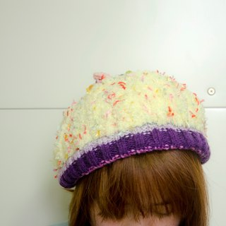 oO Oo chatter layers of braided egg yellow dome [limited goods]