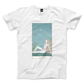 XVII | The Star - White - Unisex T-Shirt