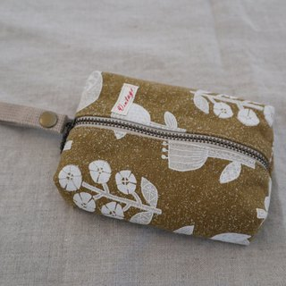 Face Paper Pouch (Yellow Flowers)