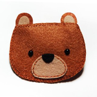 Cute animal- Brown bear   Juie Handmade