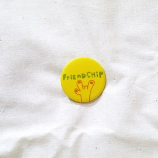 Magnet Badge | Long Live Friendship