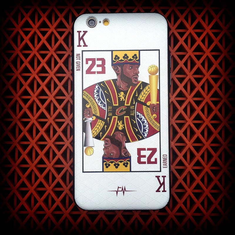 "Flame ""The King"" Phone Case"