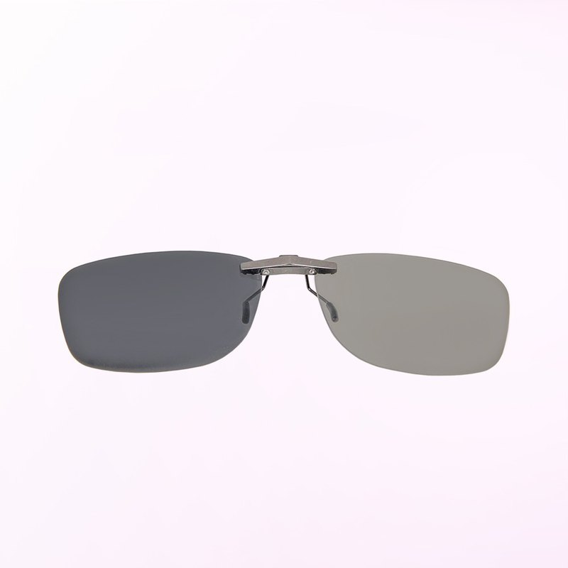 Morning Light Overture│Iceland Grey Aluminum Magnesium Alloy Photochromic Polarized Clip Glasses│Sunglasses│Sunglasses