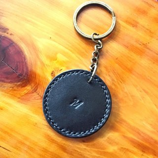 【Finished Product Made ◉aze Pillow ┇ Key ◉ NOTE】 Original Handmade Leather Key Ring # keychain # 1 Leather Keychain Handmade Sewing Vegetable Tanneries Italian Leather Made in Hong Kong