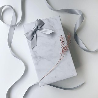 [Packaging Service] Handmade packaging of marble wrapping paper - not sold separately