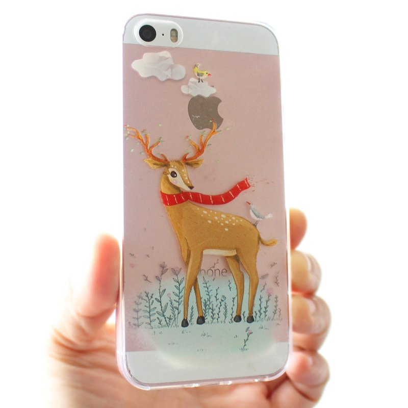 Golden Deer phone case _ iPhone, Samsung, HTC, LG, Sony