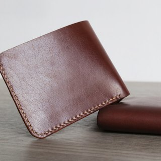 Arts and a small | Kabuqinuo simple short clip leather wallet Valentine's Day gift