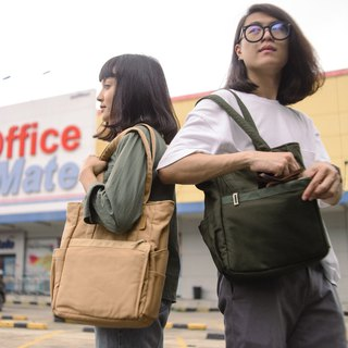 Bokeh Camera Bag : Mini Tote Khaki