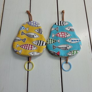 Fish pear key bag [K170110]
