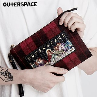 OUTER SPACE Doomsday Dinner Punk Plaid