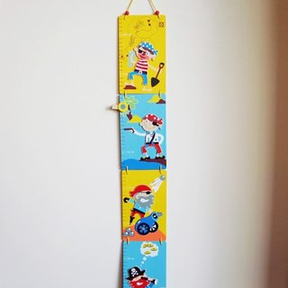 Wooden Pirate growth chart