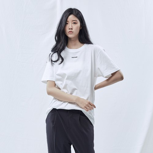 DYCTEAM 基礎系列 | Embroidery Logo Tee (WH)