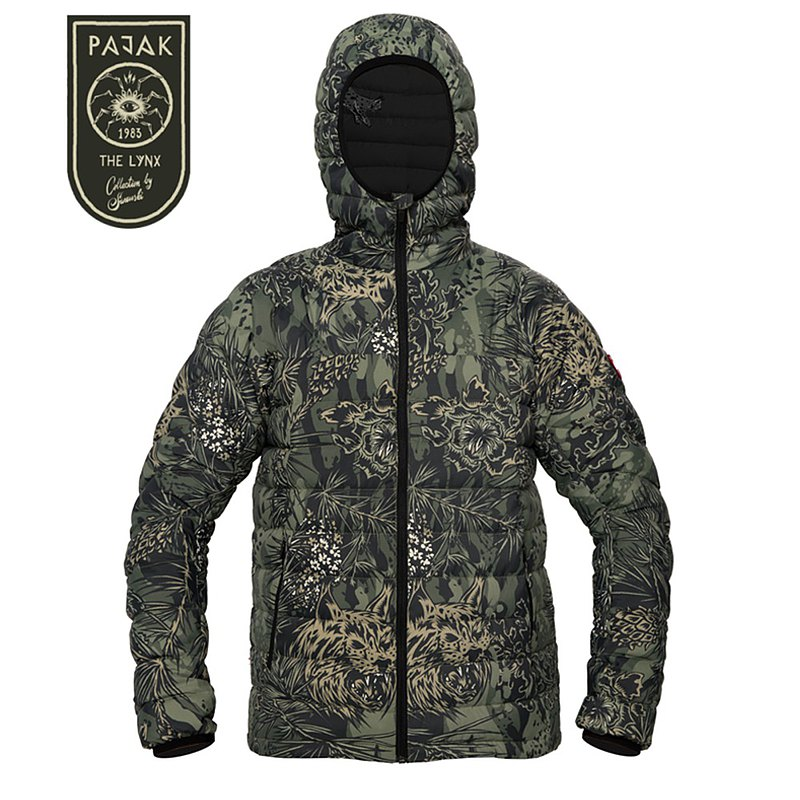 [Spot hot sale] Pajak lightweight down jacket neutral (XS, S) Bobcat camouflage