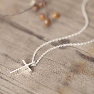 Classic Cross Necklace Silver 925