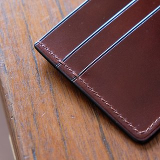Mildy Hands - Card Wallet 01 Carrying Japanese Cordovan Horseskin