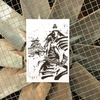 [Ink painting postcards] Asai long political