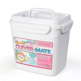 CEVER-MATE Certified Cat Litter Added to Filter Wine - Delicate Baby Floral (6.35 kg / Bucket)