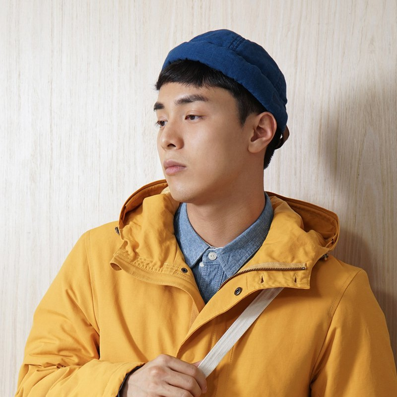 【ad-lib】Denim Miki Hat -Black// Blue(AH102)
