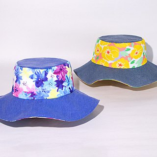 【The MAMA's Closet】Yellow Water Lily / Sun Hat