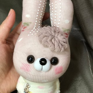 Xiao Meng rabbit 06 socks doll strap / current product / Martin hand-made