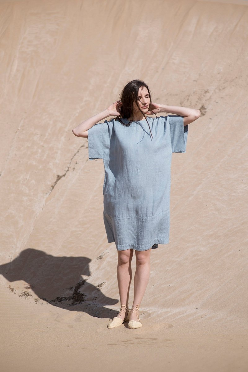 Linen Dress Motumo 16S9