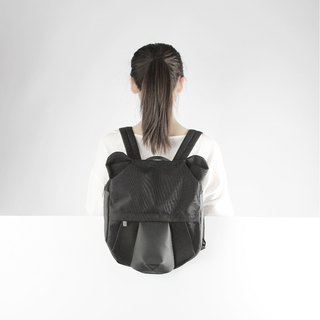 ORIBAGU origami bear backpack bag _