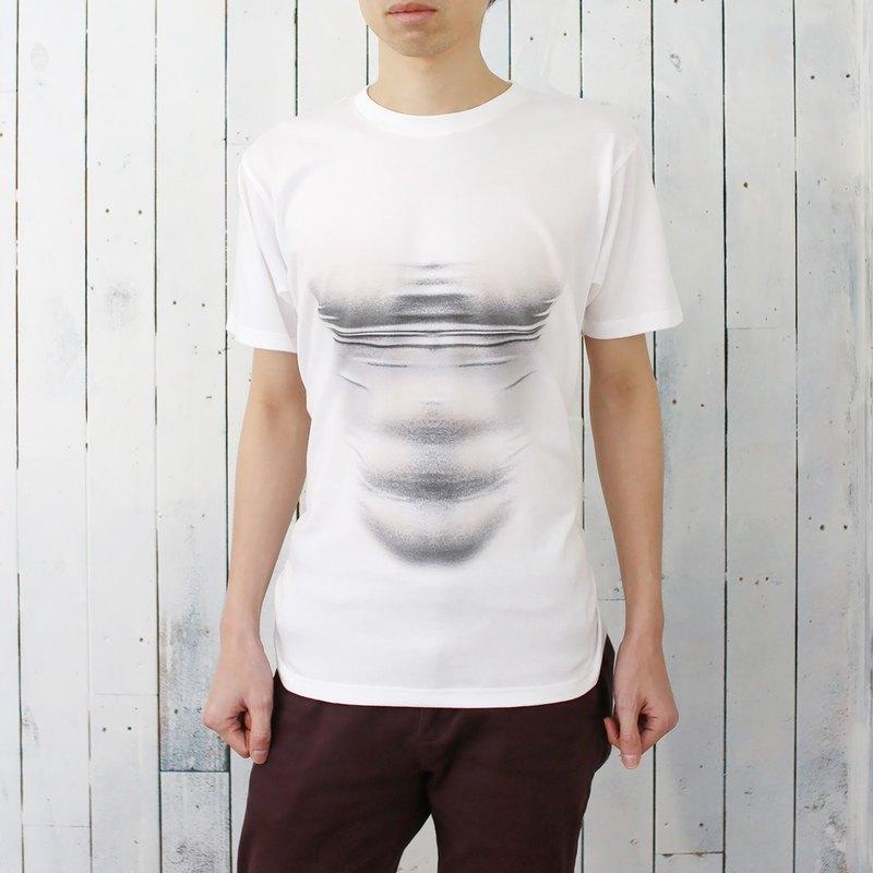 e43e558e97 Mousou Mapping T-shirt  Illusion muscle