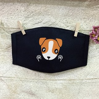 [NINKYPUP Reflective Mask] Jack Russell Terrier