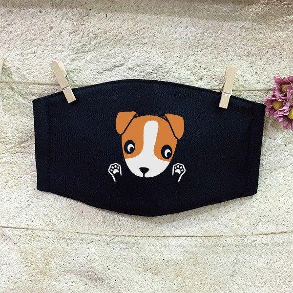 反光口罩 傑克羅素㹴犬 Jack Russell Terrier