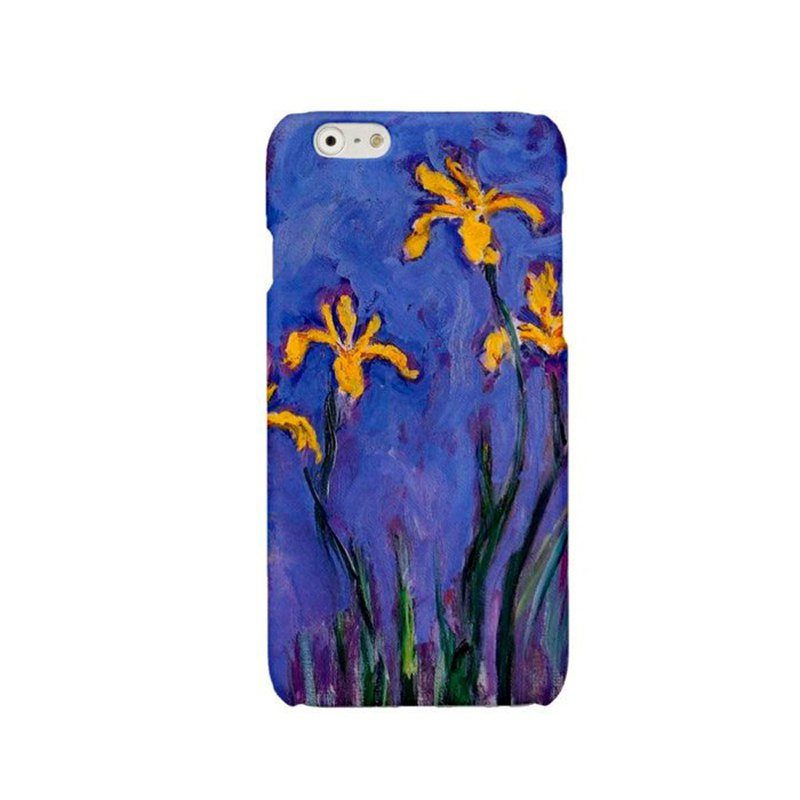 iPhone case Samsung Galaxy Case Phone hard case Claude Monet iris 2422
