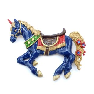 Knight Horse Brooch Ripakurekisu / pin brooch PB081
