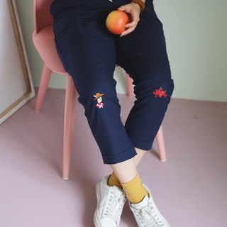 Apple-farmer Pants : Blue