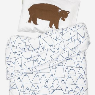 Organic cotton bed set – BRUNO/MOUNTAINS BED SET