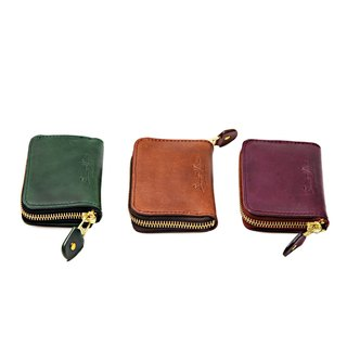 Leather Coin Bag 103A