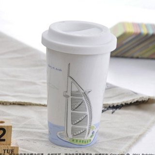JB Design I am not a paper cup ~ Dubai sailing hotel