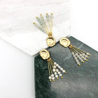 Christmas Gift【No. 04】Mini Pearls 14kgf  Earrings