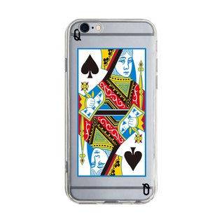 Spades Q iPhone X 8 7 6s Plus 5s Samsung note S7 S8 S9 plus HTC LG Sony Mobile Phone Cases