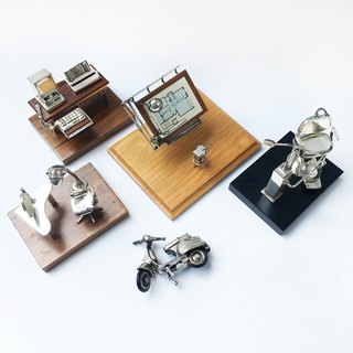 German nostalgic mini beauty room, workbench model | 925 silver German Seiko early collection