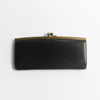 A ROOM MODEL - VINTAGE, PAUL SMITH long black mouth gold clip / BD-0670